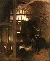 The Dark Barn 1900 By Sir George Clausen