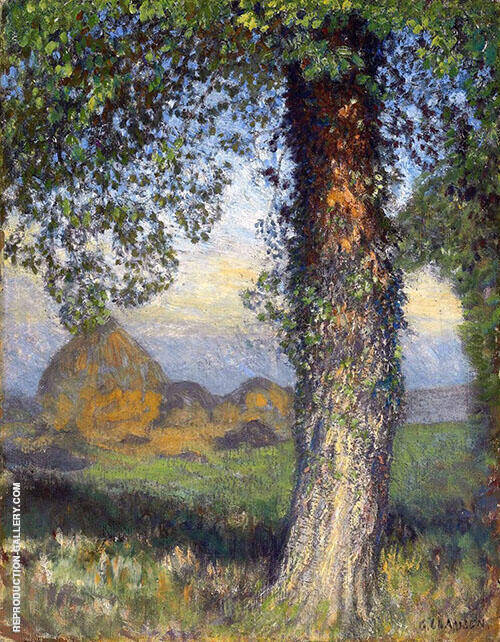 The Elm Tree By George Clausen