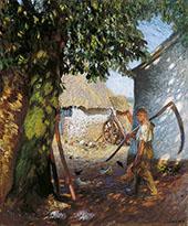 The Farmyard 1908 By Sir George Clausen