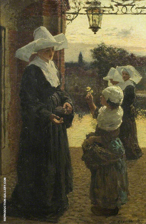 The Flower 1879 By George Clausen