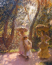 The Gleaners Returning 1908 By Sir George Clausen