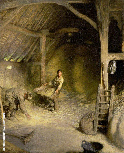 The Golden Barn By Sir George Clausen
