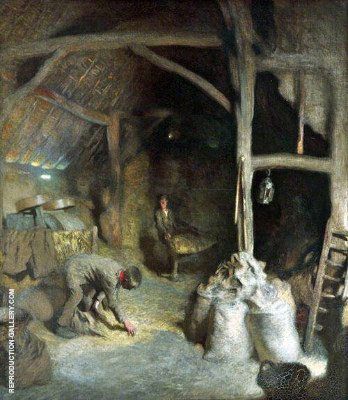The Golden Barn 1901 By George Clausen