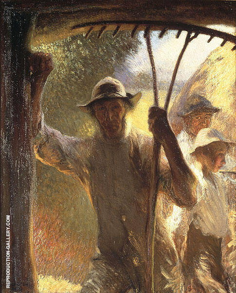 The Haymakers 1903 By Sir George Clausen