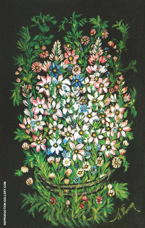 Grand Bouquet Champetre 1927 By Seraphine Louis