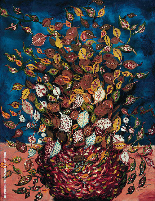 Le Bouquet De Feuilles By Seraphine Louis