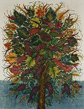 Les Grappes de Raisin 1928 By Seraphine Louis