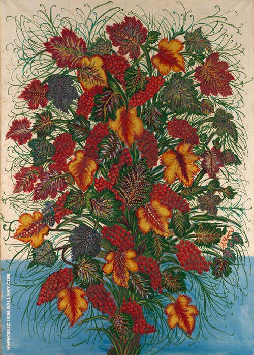 The Large Bouquet c1907 By Seraphine Louis