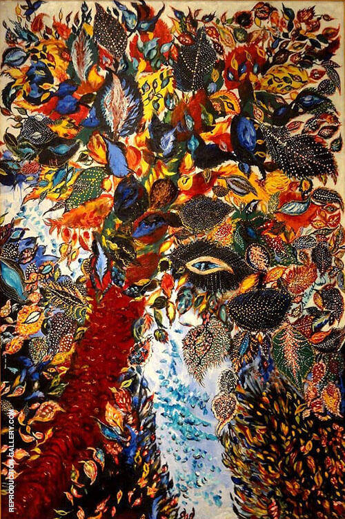Tree of Paradise 1930 By Seraphine Louis
