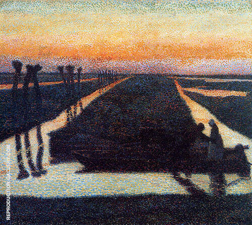 Broek in Waterland 1889 By Jan Toorop