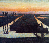 Broek in Waterland 1889 By Jan Toorop