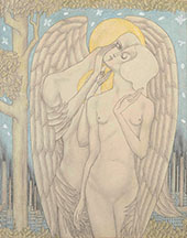 La Demande en Mariage (Het Aanzoek) By Jan Toorop