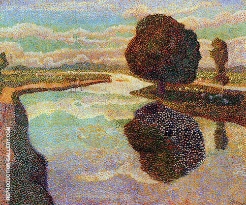 Landscape with Canal By Jan Toorop