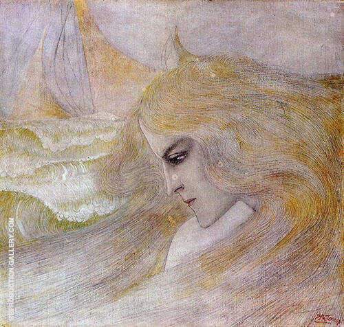 Oceanide By Jan Toorop