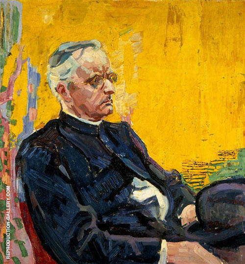 Portrait of Heinrich Schrors By Jan Toorop