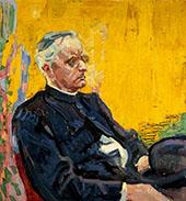 Portrait of Heinrich Schrors By Jan Toorop
