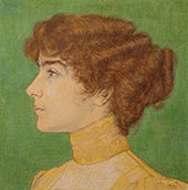 Portrait of Lily Clifford By Jan Toorop