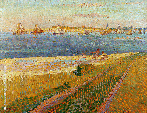 The Schelde at Veere By Jan Toorop