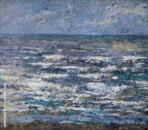 The Sea at Katwijk By Jan Toorop