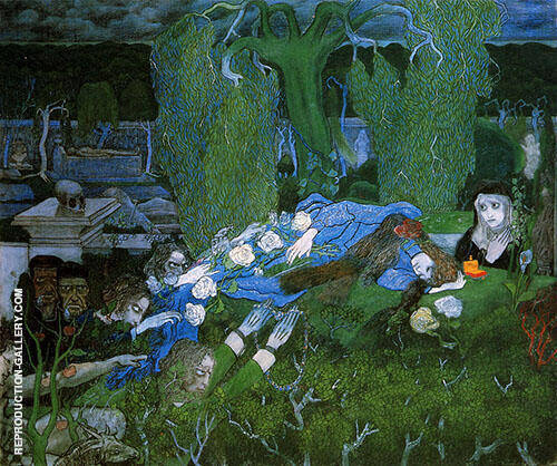 The Vagabonds 1891 By Jan Toorop