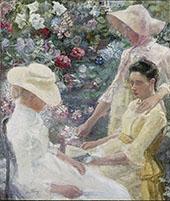 Trio Fleuri 1886 By Jan Toorop