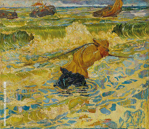 Vloed 1891 By Jan Toorop