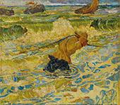 Vloed 1891 By Jan Toorop