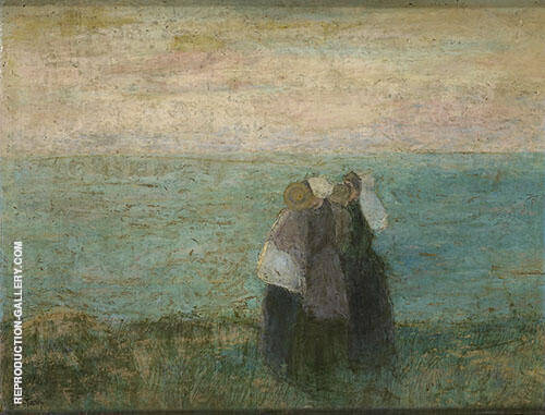 Women at the Sea Painting By Jan Toorop - Reproduction Gallery