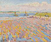 Landscape at Veere By Jan Toorop