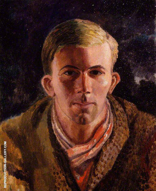 Gerald Brenan 1921 By Dora Carrington