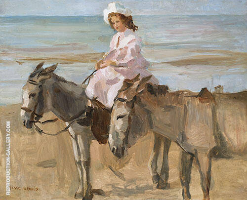 On Scheveningen Beach By Isaac Israels