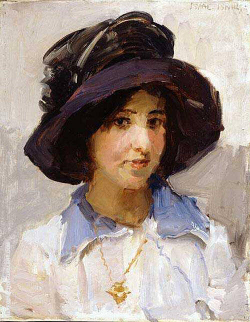 Portrait of a Girl 2 By Isaac Israels