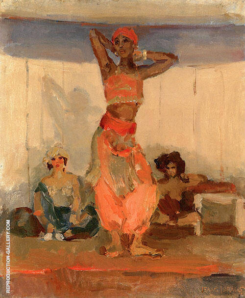 A Dancer By Isaac Israels