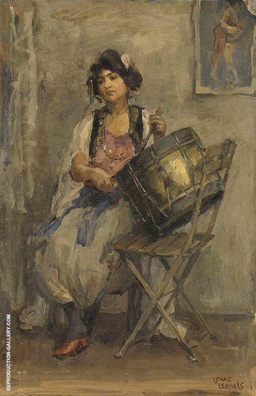The Lady Drummer By Isaac Israels