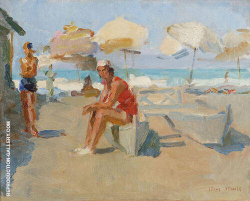 Venice Beach By Isaac Israels