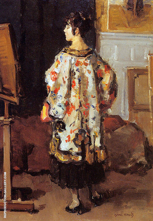 Model in Kimono By Isaac Israels