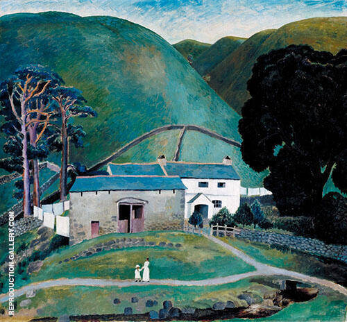 Farm at Watendlath 1921 By Dora Carrington