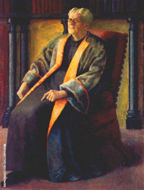 Mr. Painting By Dora Carrington - Reproduction Gallery