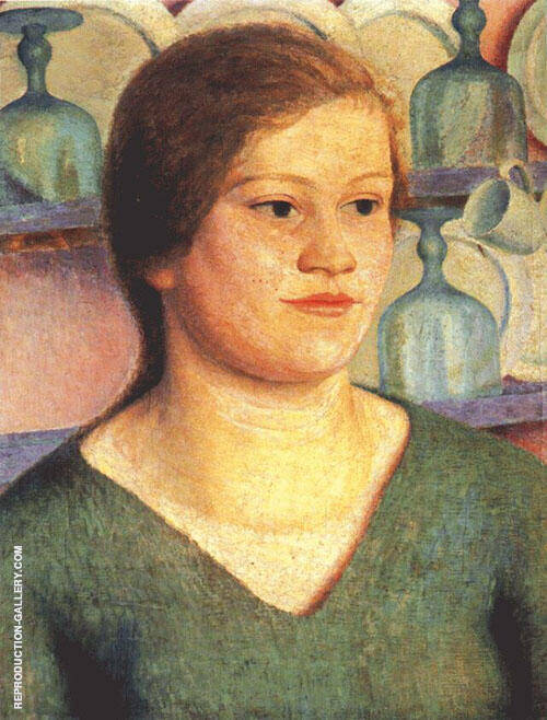 Portrait Painting By Dora Carrington - Reproduction Gallery