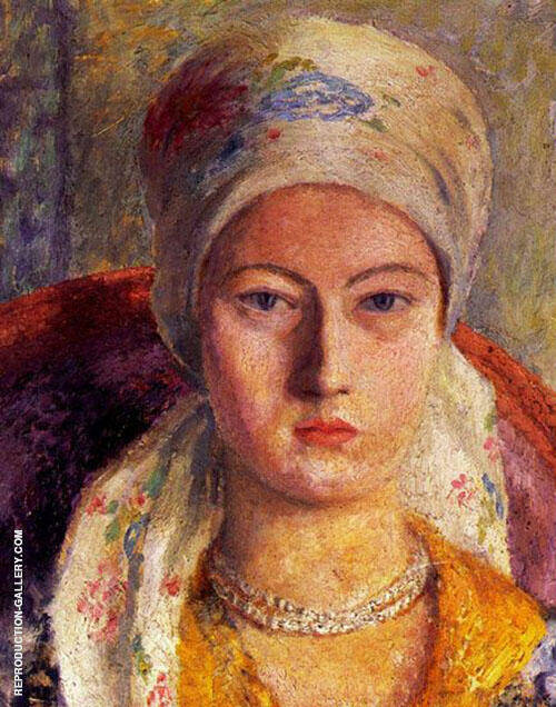 Portrait of a Lady 1928 Painting By Dora Carrington - Reproduction Gallery
