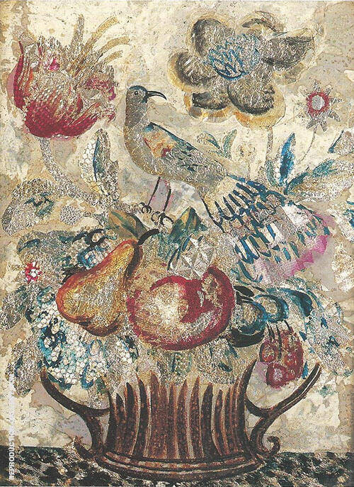 Rouen Ware 1923 By Dora Carrington