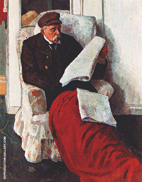 The Artist's Father Painting By Dora Carrington - Reproduction Gallery
