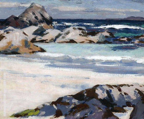 A View from Iona looking towards Lunga By Francis Campbell Boileau Cadell