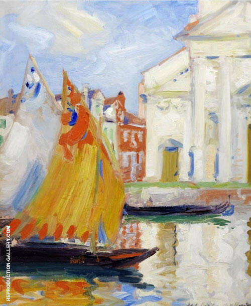 Venice 1 By Francis Campbell Boileau Cadell