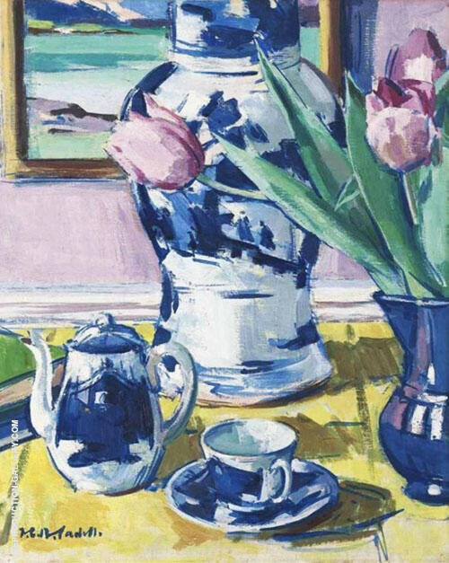 Still Life 2 By Francis Campbell Boileau Cadell
