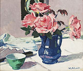 Still Life with Roses By Francis Campbell Boileau Cadell