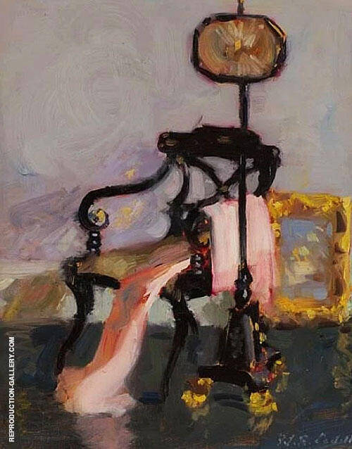 The Pink Robe Painting By Francis Campbell Boileau Cadell