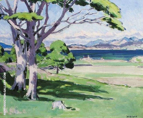 The West Highlands and the Sound of Mull Painting By ...