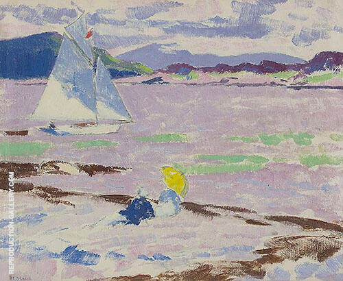 Roina in the Sound of Mull By Francis Campbell Boileau Cadell