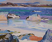 Iona Looking Towards Mull By Francis Campbell Boileau Cadell